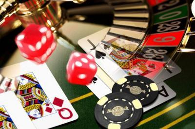 jeux casino dés cartes jetons roulette